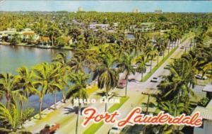 Florida Fort Lauderdale Las Olas Boulevard 1964