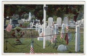 Philadelphia, Pa., Betsy Ross Grave