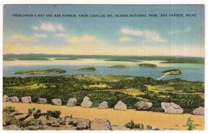 Bar Harbor, Maine, Frenchman's Bay and Bar Harbor, From Cadillac Mt.