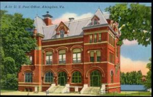 Abingdon, Virginia, U.S. Post Office (1940s)