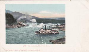 Steamer, The Cascades, Columbia River, 1901