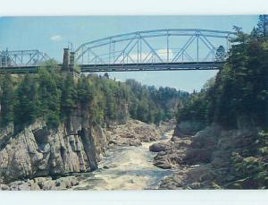 Unused Pre-1980 TOWN VIEW SCENE Grand Falls New Brunswick NB p8512