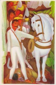 Painting, Emiliano Zapata, Agrarian Revolutionary Leader, Palacio de Cortes, ...