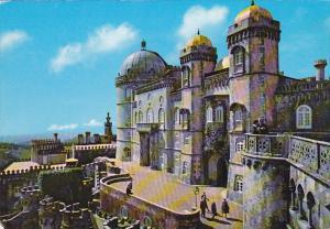 Portugal Sintra National Palace Of Pena Main Facade