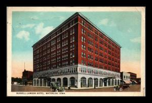 RUSSELL LAMSON HOTEL WATERLOO IOWA