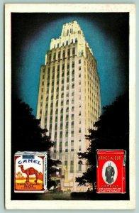 Winston Salem NC~RJ Reynolds Tobacco Co~Camel~Prince Albert in Can~1948 Adv PC