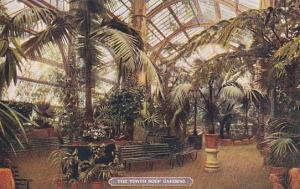 The Tower Roof Gardens, London, England, UK, 1900-1910s