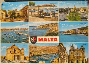 Malta Multi-view Valletta Mosta Mdina etc - posted 1992