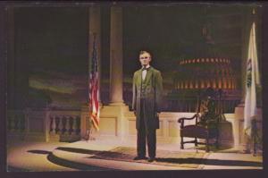 Mr Lincoln,Disneyland Postcard