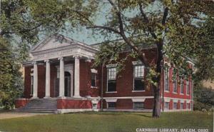 Ohio Salem Carnegie Library 1915