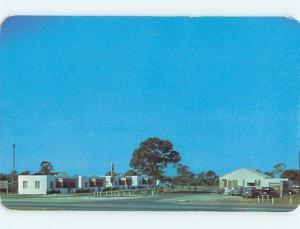 1950's OLD CARS & STAR TOURIST COURT MOTEL Ft. Fort Pierce Florida FL s9736