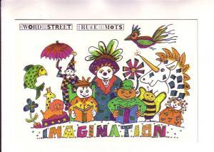 Children, Unicorn, Bee, Fish, Clown, Giraffe, Lion Imagination, Word on the S...