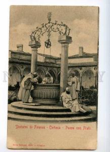 247578 ITALY FIRENZE suburb monks Certosa Pozzo con Frati OLD