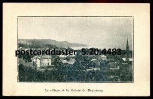 4483 - POINTE DU SAGUENAY Quebec Postcard 1910s Panoramic View