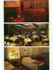 White Hart Inn Salisbury Connecticut Hotel of Distinction  Postcard # 8899