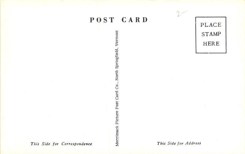 Dexter New York~First Presbyterian Church Neighborhood View~1950s B&W Postcard