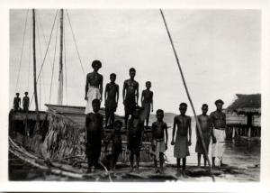 Papua New Guinea, Real Photo Native Papuas (1930s) RP (08)