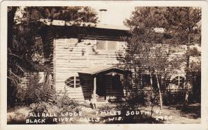 RP: 7 Miles South of BLACK RIVER FALLS, Wisconsin, 1925-1942; Fall Hall Lodge