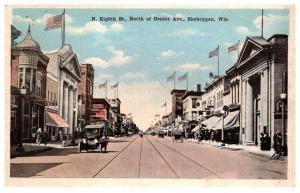 Wisconsin  Sheboygau ,  North Eight Street , North of Center Avenue