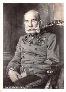 Kaiser Franz Josef - real photo