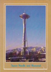Space Needle And Monorail Seattle Washington 1937