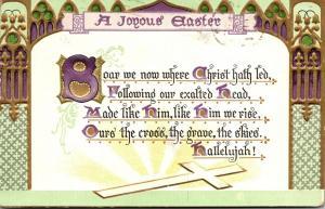 Tucks Easter Post Card Series A Joyous Easter 1909