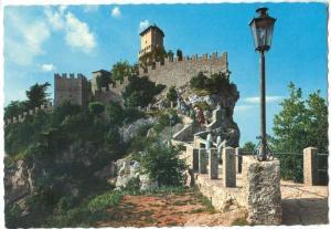 Repubblica di S. Marino, La Prima Torre, First Tower, unused Postcard
