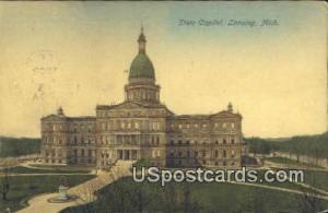 State Capitol Lansing MI 1907