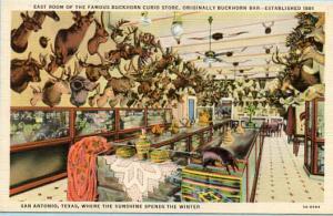 TX - San Antonio, East Room of Buckhorn Curio Store