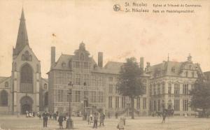 Belgium St. Nicolas Eglise et Tribunal de Commerce 02.66