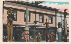 Walter Waters Bear Totem Store - Wrangell AK, Alaska - pm 1929 - WB