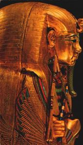 Postcard Cairo Museum King Tut Second Coffin Lehnert Landrock Unposted  F1 4x6