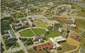 Canada Aerial View University Of Saskatchewan Saskatoon Saskatchewan