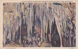 New Mexico Carlsbad Crystal Grotto In Big Room Carlsbad Caverns National Park