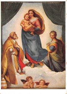 Raffael Sixtinische Madonna Dresden Germany Unused