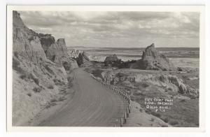 RPPC Badlands SD Cedar Pass South Dakota Rise Studio 1940's
