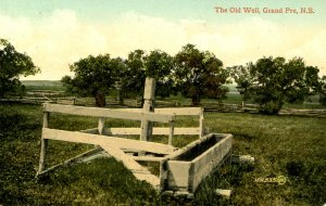 Canada - Nova Scotia, Grand Pre. Old Well