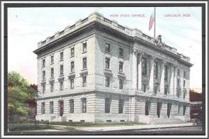 Nebraska, Lincoln New Post Office - [NE-016]