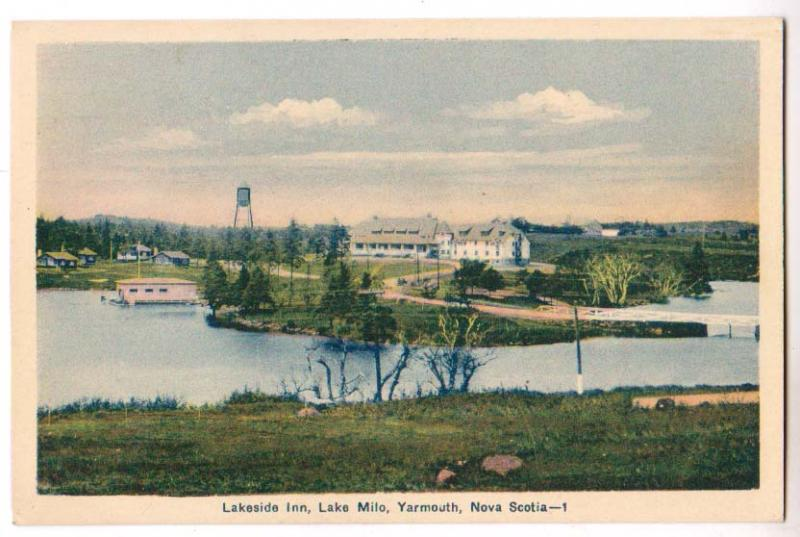 Lakeside Inn, Lake Milo, Yarmouth NS