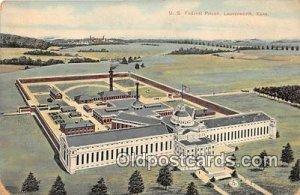 US Federal Prison Leavenworth, Kansas USA Prison Unused