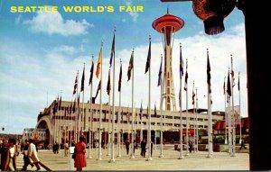 Washington Seattle World's Fair Plaza Of States