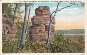 Wisconsin Praire Du Chien Black Hawk Monument Nelson Dewey State Park 1929