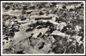 rhodesia, Victoria Falls Hotel, Aerial View (1930s) RPPC