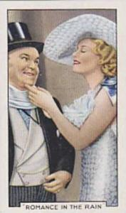 Gallaher Cigarette Cards Shots From Famous Films No. 3 Romance In The Rain