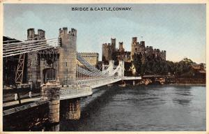 Wales Conway Bridge & Castle