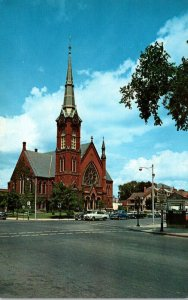 Massachusetts Natick First Congregational Church Founded 1651