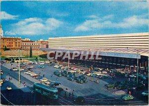 Postcard Modern Roma Termini railway station