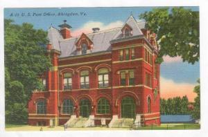 U. S. Post Office, Abingdon, Virginia, 20-40s