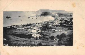 Fayal Acores Portugal Bahia da Horta Antique Postcard J50665