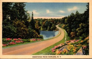 New York Greetings From Pawling 1940